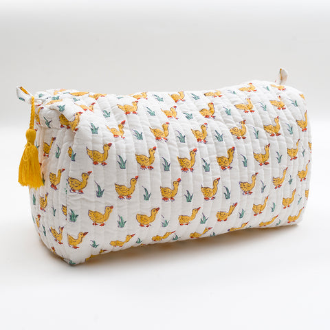 Yellow Ducks Wash Bag