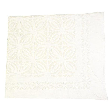 Cut Work Applique Bedspread