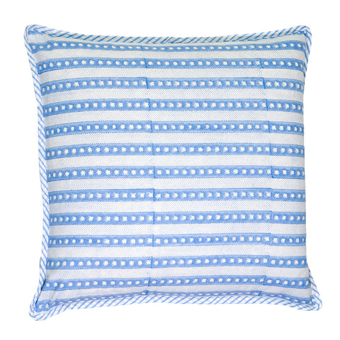 Blue Star Cushion Cover