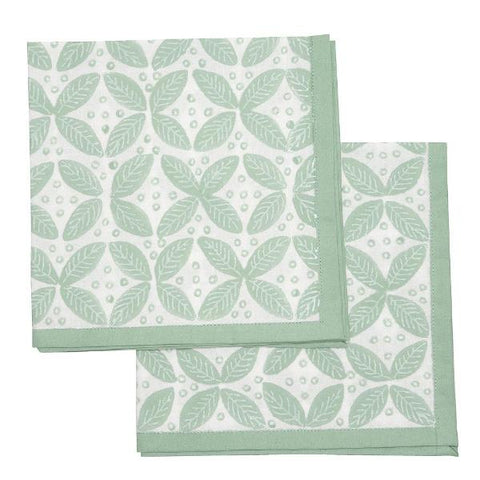 Berry Napkins Green - Set of 4