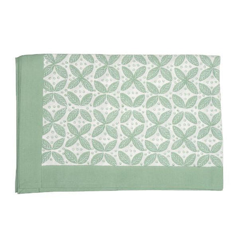 Berry Tablecloth Green