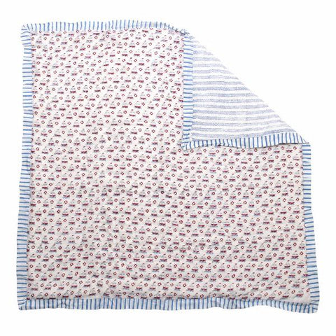 Sailing Boats Baby Quilt