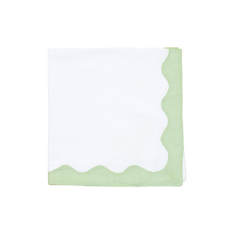 green wave napkin