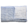 Blue Mini Elephant Cot Quilt