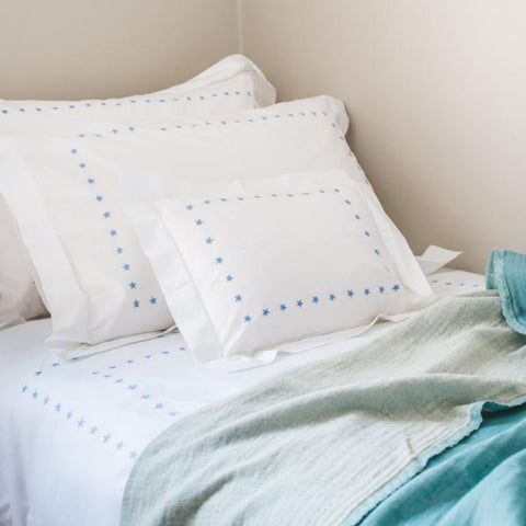 Blue Star Duvet Cover