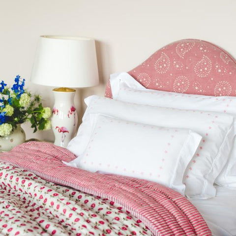Pink Star Duvet Cover