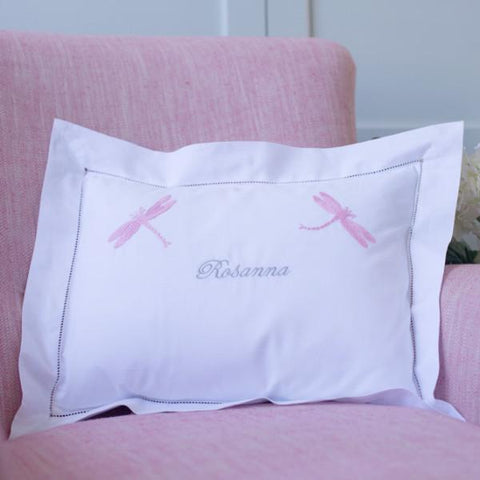 personalised pink dragonfly