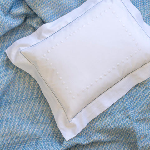 White Dots Baby Pillowcase