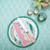 Green Oilcloth - sold by the HALF metre