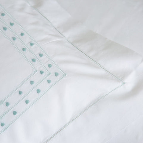 Duck Egg Matilda King Duvet Cover