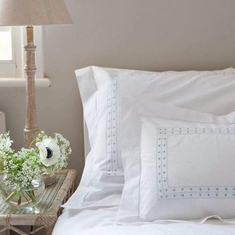 Duck Egg Matilda Duvet Cover
