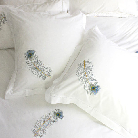 Square Peacock Pillowcase