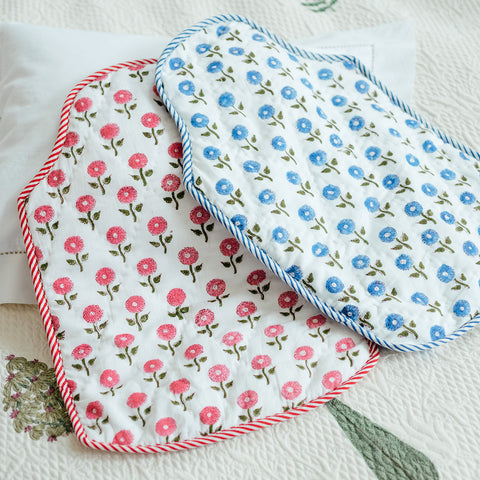 Blue Daisy Hot Water Bottle Cover