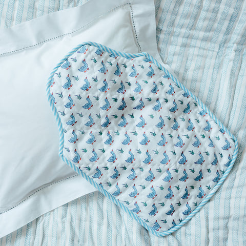 Blue Duck Hot Water Bottle Cover