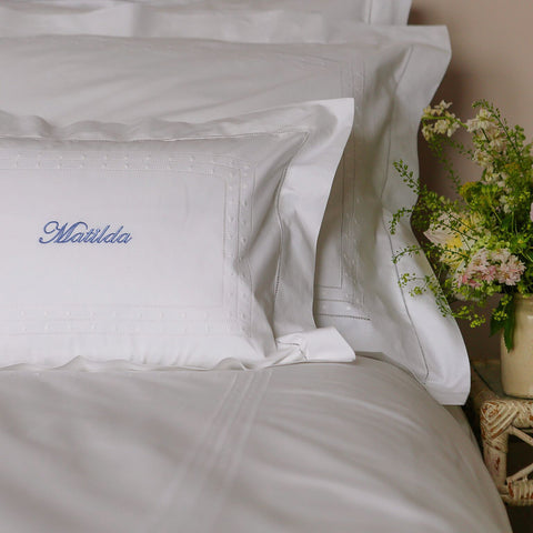Matilda Duvet Cover - White