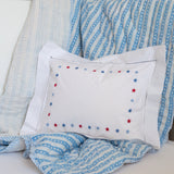 Red & Blue Star Baby Pillowcase