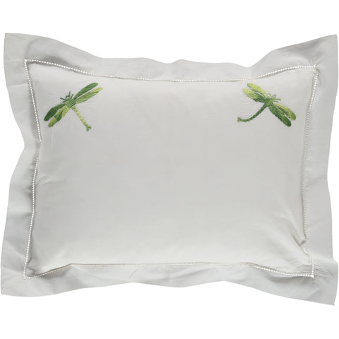 Shaded Green Dragonfly Pillowcase