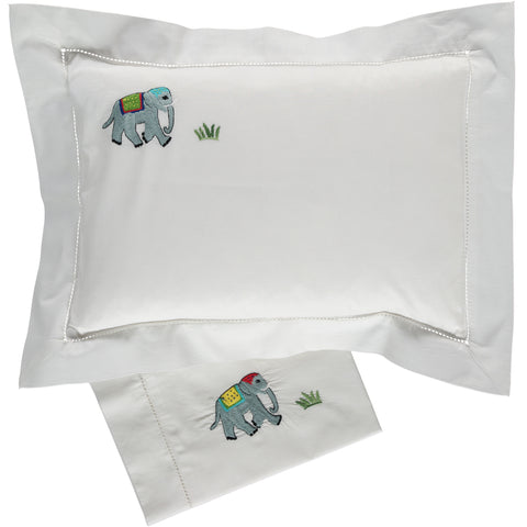 Elephant Baby Pillowcase