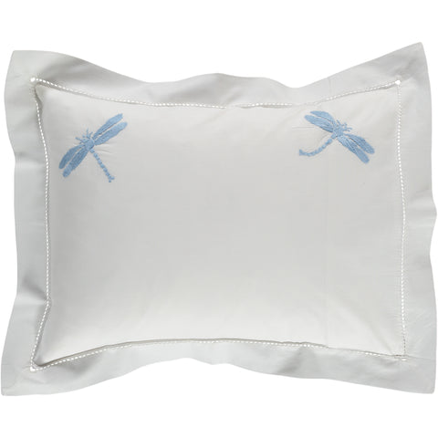 Blue Dragonfly Baby Pillowcase