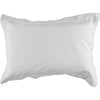 white embroidered dot pillowcase