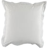 White Floral Square Pillowcase