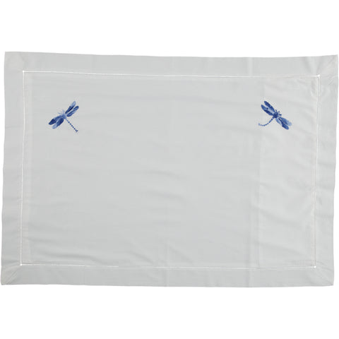 Shaded Blue Dragonfly Pillowcase  - SUPERKING Size