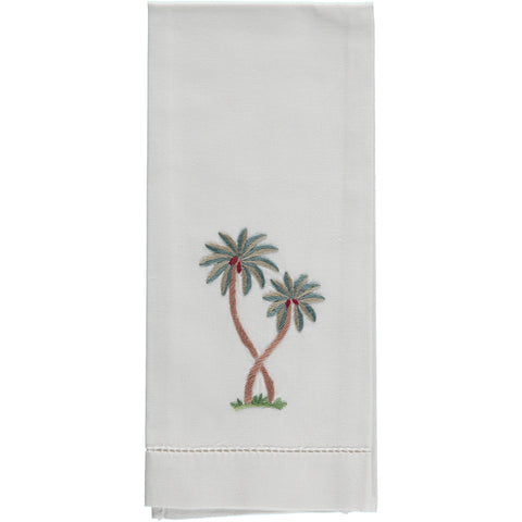 Palm Tree Hand Towel