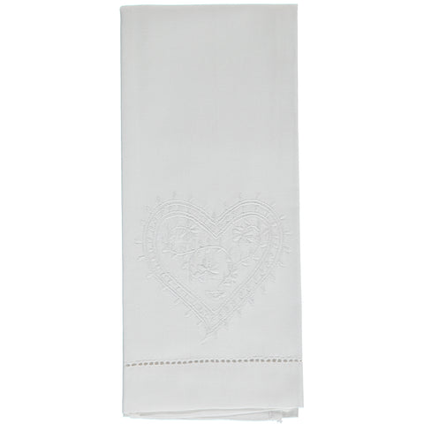 Heart Hand Towel