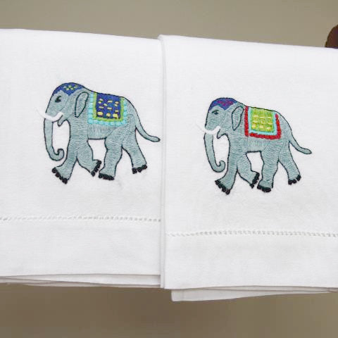 Elephant Hand Towel