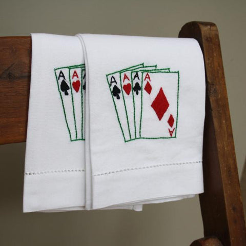Playing Cards Hand Towel