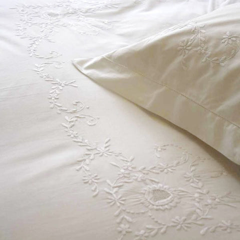 White Floral Duvet Covers