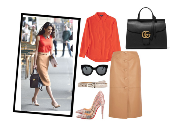 How to get Amal Clooney's work week style