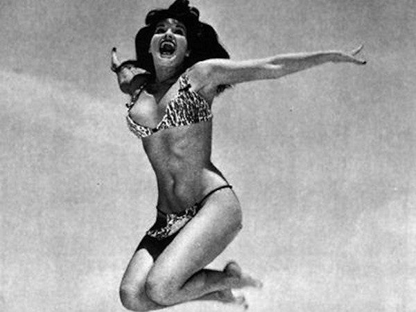 Style icon: Bettie Page