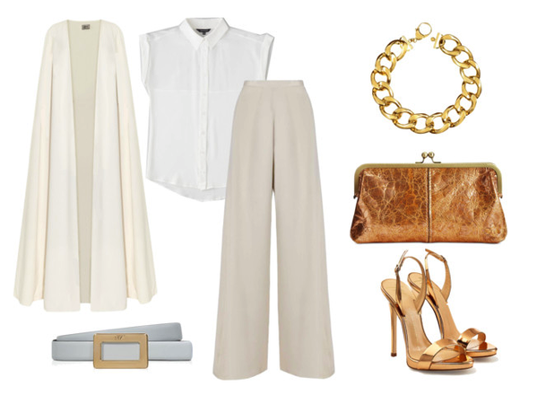 White shirt Wednesday: how to wear white to a wedding