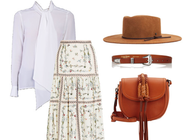 White shirt Wednesday: Prairie Princess