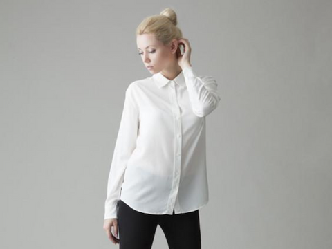 5 white shirts every woman needs