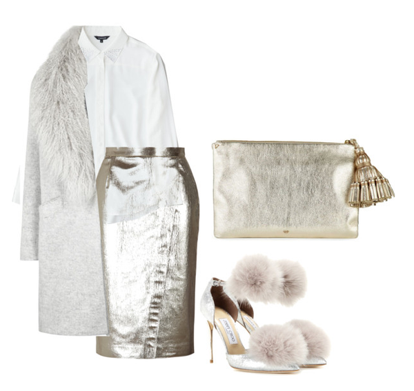 sophisticated styling metallics