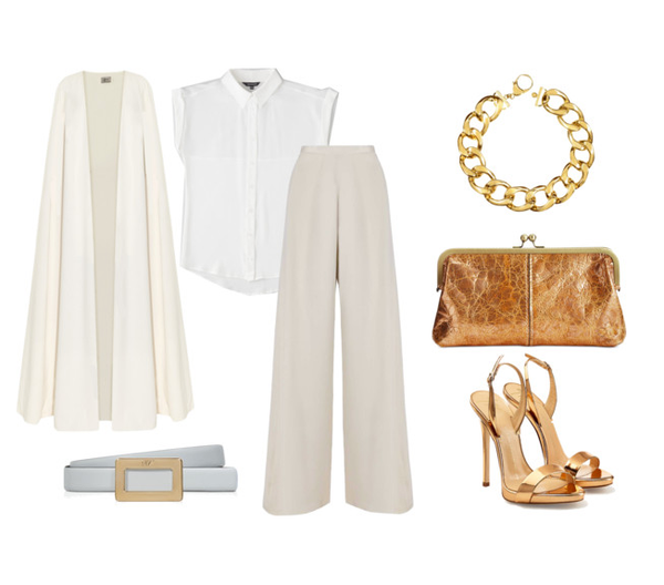 fashion forward white separates you can wear to a wedding