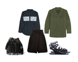 rock chic inspired off duty style
