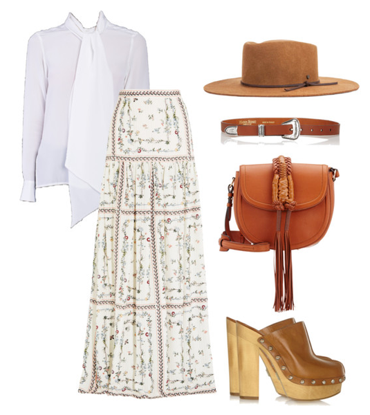 prairie princess inspired styling