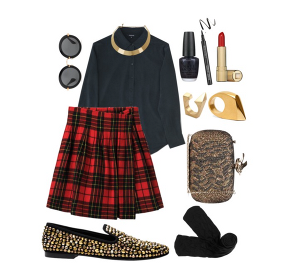 a modern take on the kilt