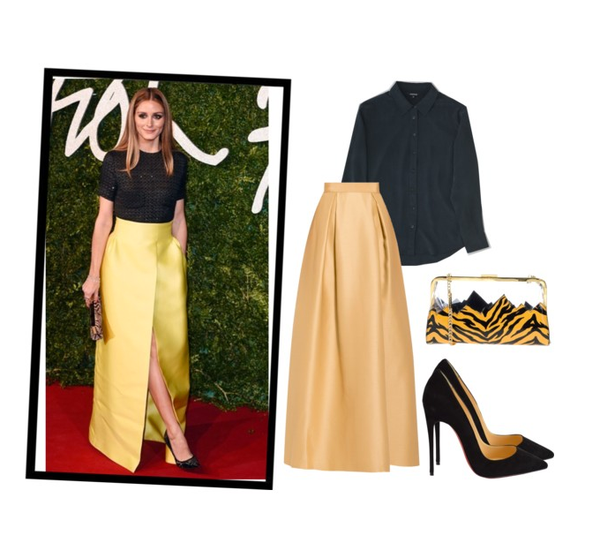 olivia palermo inspired styling black tie