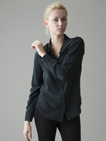 The Hepburn silk shirt: Iron Petticoat