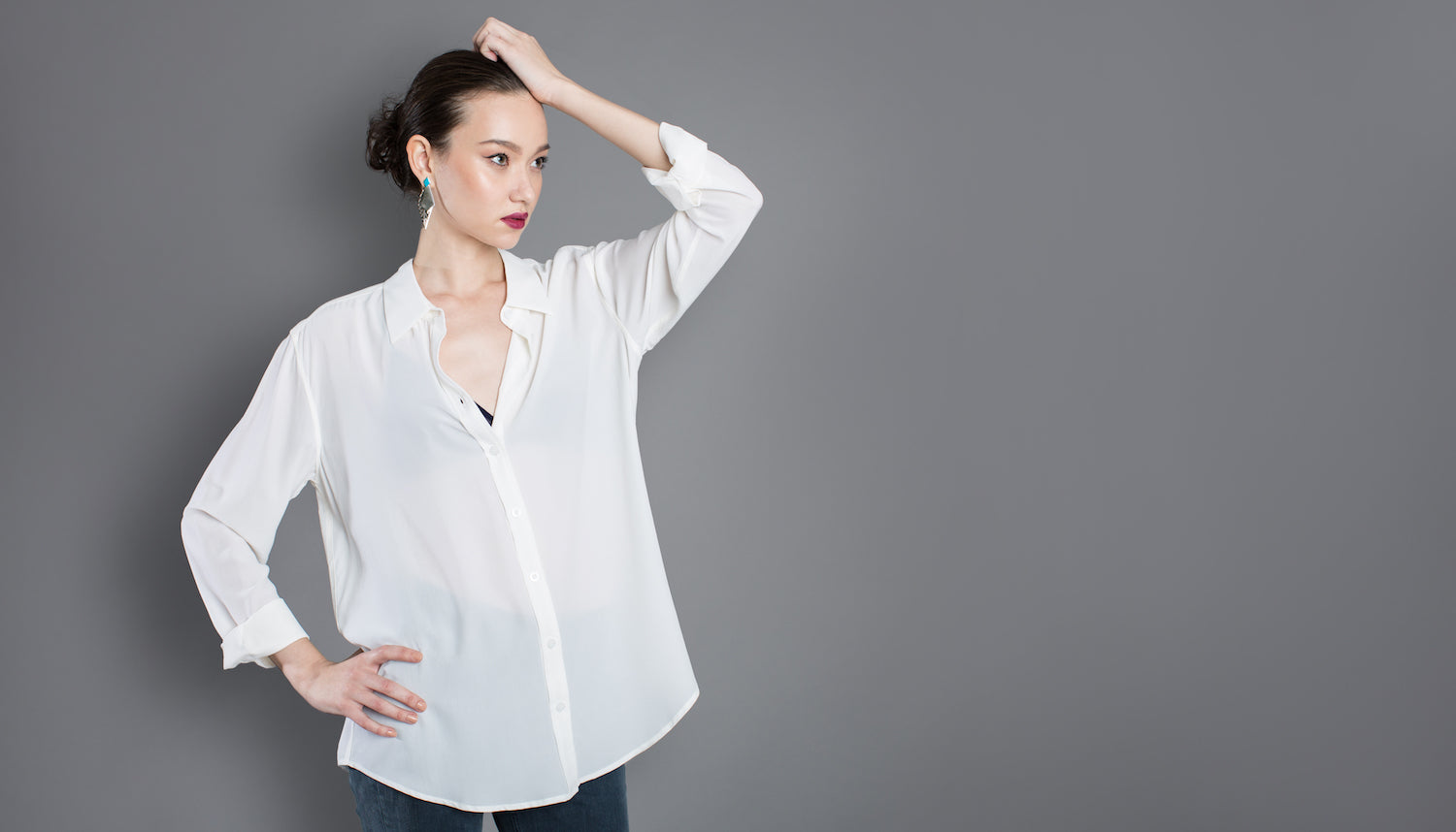 Vaughan It's time to shine. Shop Party-worthy silk shirts from $98.