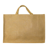 GH019 Large Jute Shopper with lavish handles