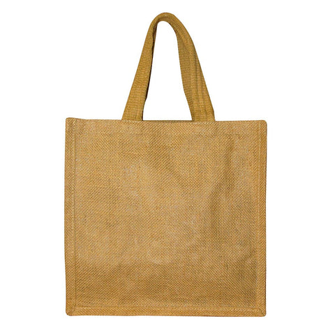 Medium Jute Shopper with lavish Handles (GH034)