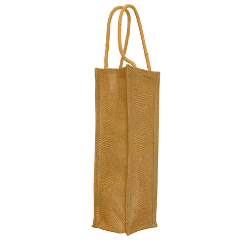 Single Bottle Jute Bag (GH035)