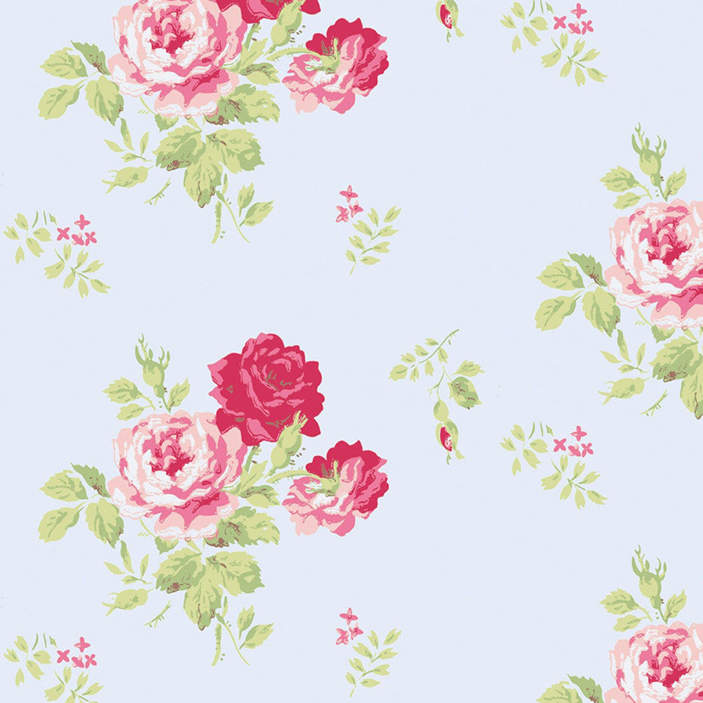 Antique Rose Wallpaper | Belles and Whistles