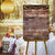 Rustic Wedding Welcome Custom Canvas Sign