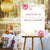Boho Floral Bridal Shower Custom Welcome Canvas Sign